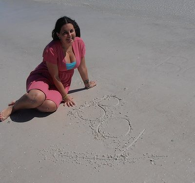 Simple Beach Gender Reveal