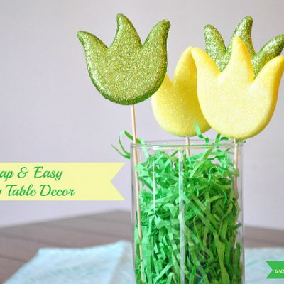 Cheap Spring & Easter Decor