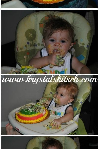 Baby's 1st Smash Cake >> Time for Mom