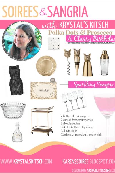 Polka Dots & Prosecco: A Classy Birthday Party