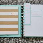 Blog Planner Organization
