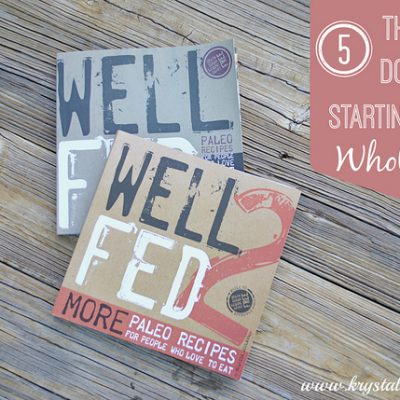 5 Things to Do Before Starting a Whole 30