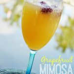 5 Tips For a Cheap & Easy Sunday Brunch + Grapefruit Mimosa Recipe