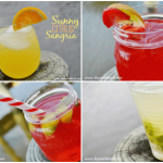 Easy Strawberry Peach Champagne Sangria Recipe