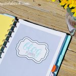 Create a Blog Planner with Mama's Got It Together Printables