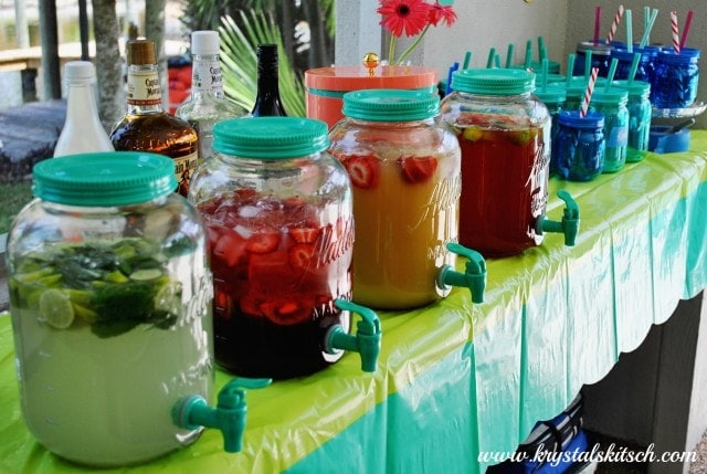 Aladdin Mason Jar Drink Dispensers