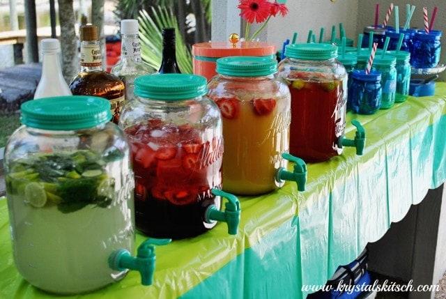Aladdin Mason Jar Drink Dispensers
