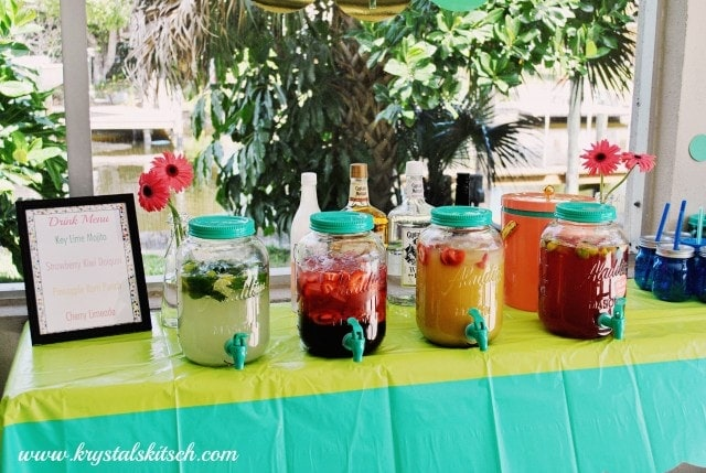 Aladdin Mason Jar Juice Bar