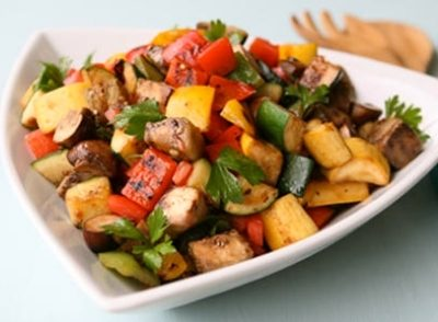 Pan Roasted Florida Vegetables Recipe