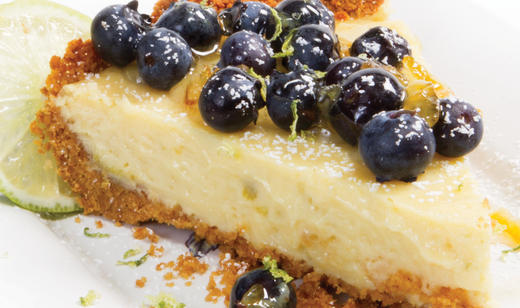 Florida Blueberry Key Lime Pie Recipe