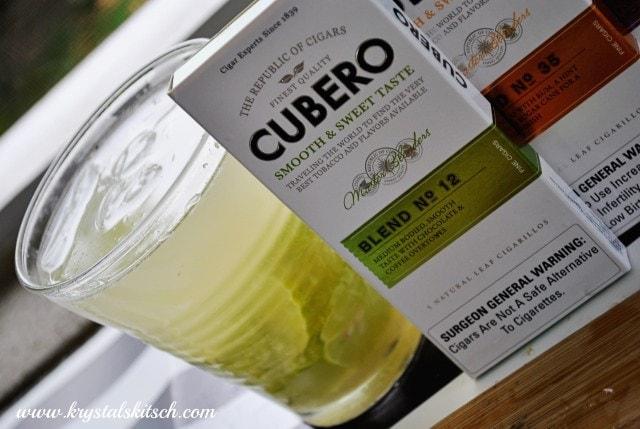 Cubero Blend No 12 and Caipirinha Party