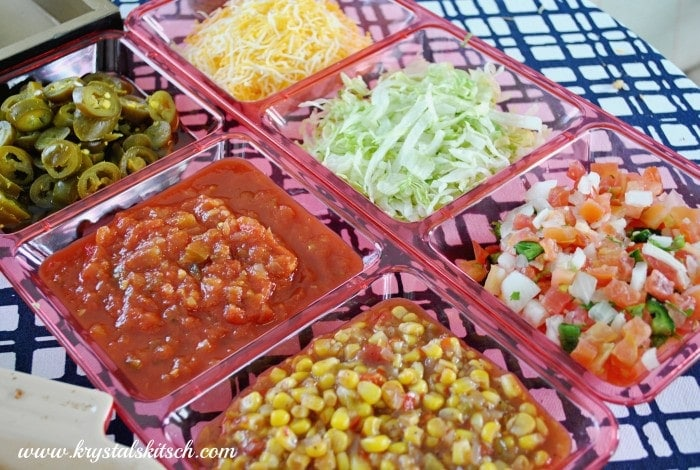 DIY Taco Bar Ideas #shop