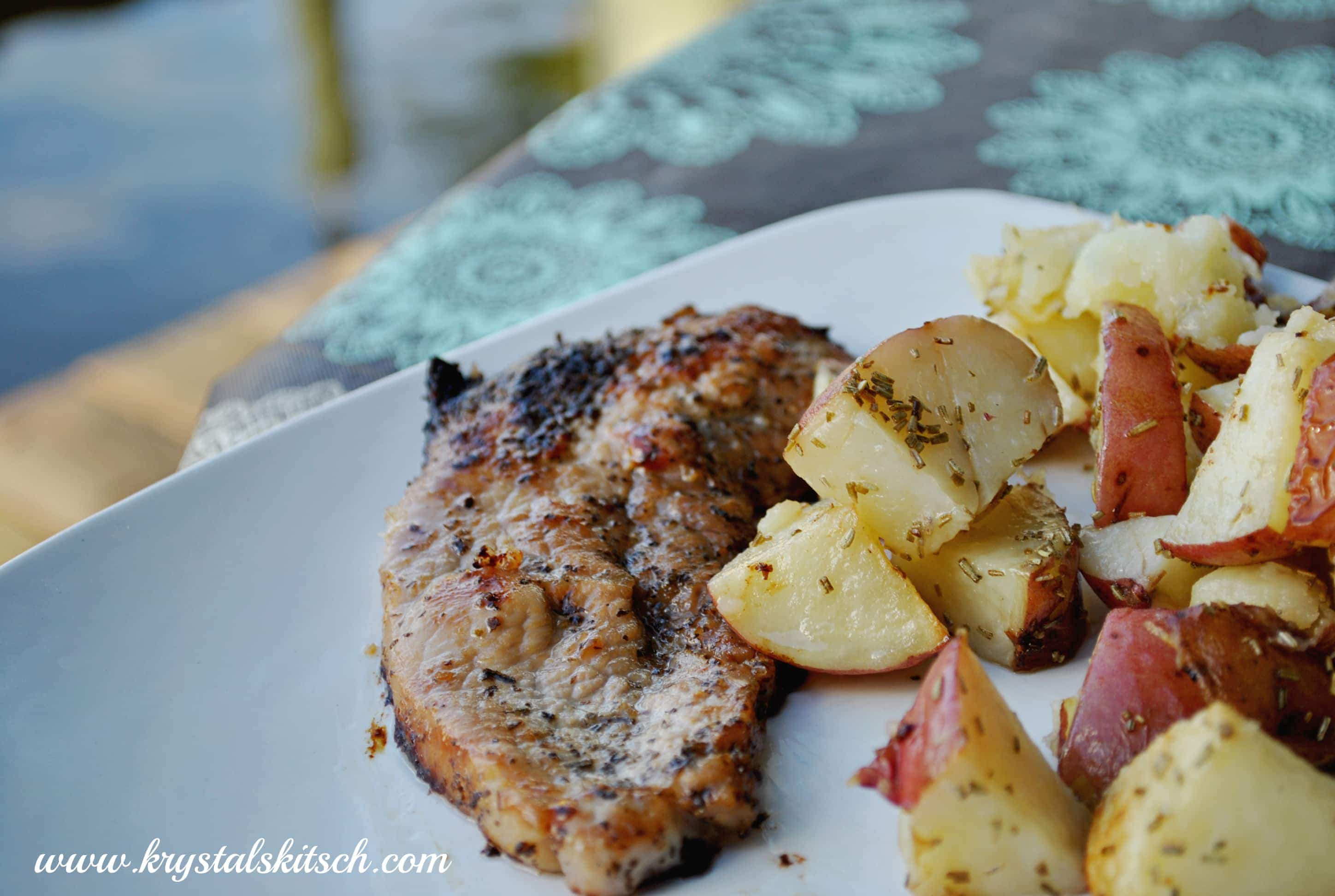 Easy Olive Oil Pork Chop Recipe #shop