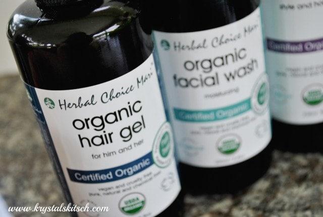 Organic Hair Gel