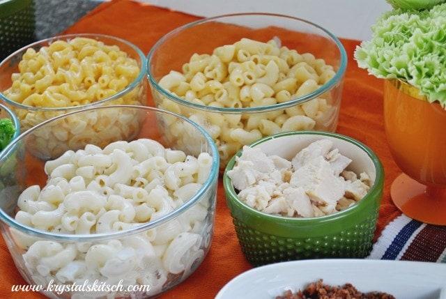 DIY Macaroni and Cheese Bar Party Inspiration