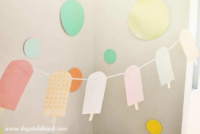 Fruit Bar Bunting Party Tutorial DIY