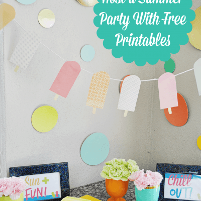Host a Summer Party With Free Printables