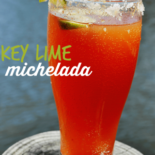 Key Lime michelada