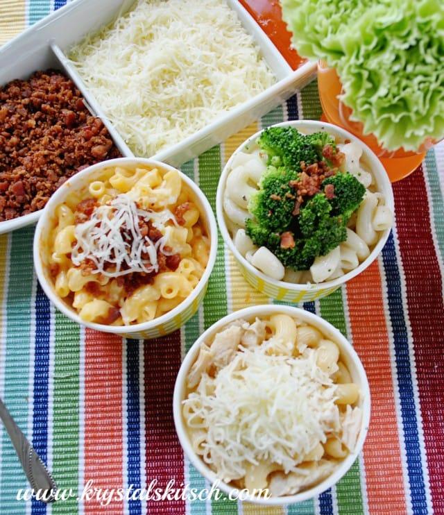 Macaroni and Cheese Bar DIY