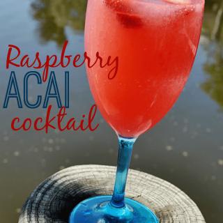 Raspberry Acai Cocktail