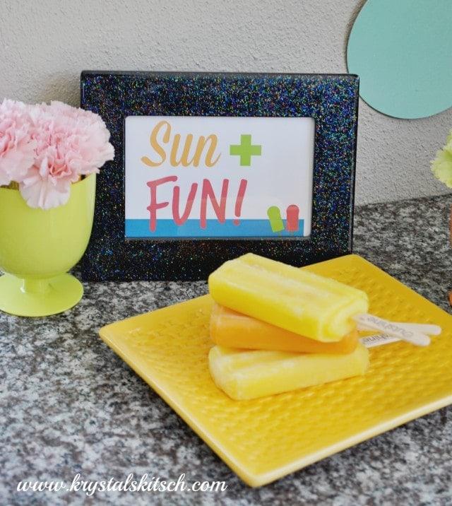 Sun and Fun Party Printable