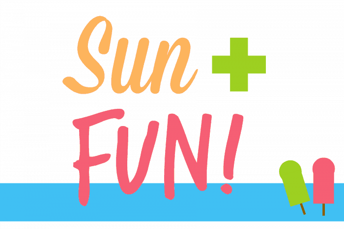 Sun and Fun Printable Summer Party Free Printable Sign