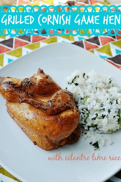 Grilled Tyson Cornish Game Hen Recipe