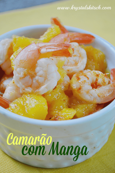 Throw a World Cup Party | Shrimp With Mango Brazilian Recipe #FortheCup #ad