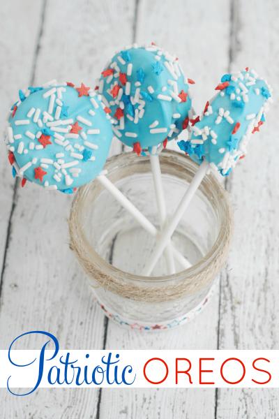 Patriotic Oreos | July 4th Dessert Recipe