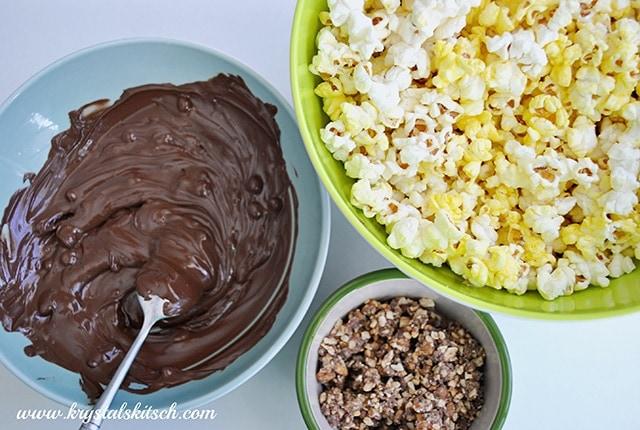 Snickers Peanut Butter Popcorn Recipe