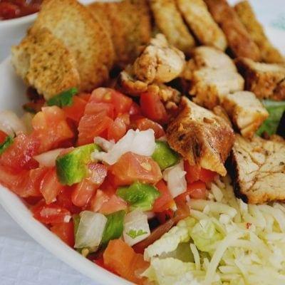 Chicken Dinner Ideas: Southwestern Chicken Salad