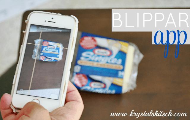 Blippar App #saycheeseburger #shop