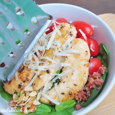 Garlic Rosemary Chicken Salad Recipe