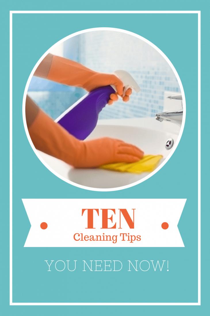 Ten Cleaning Tips