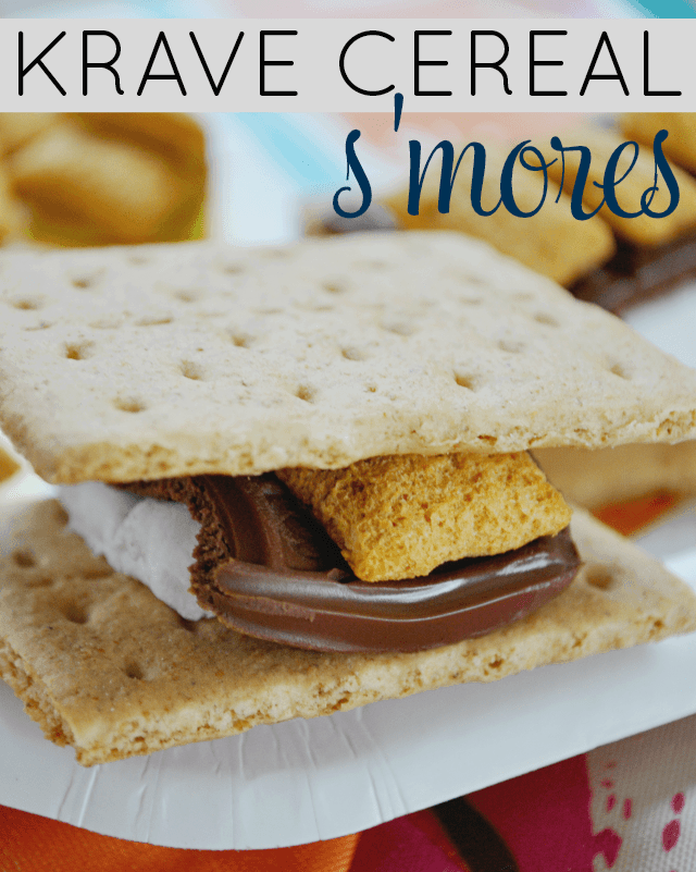 Kellogg's Krave Cereal S'mores Recipe