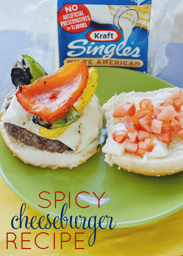 Spicy Cheeseburger Recipe #shop
