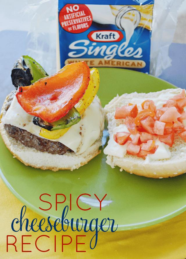 Spicy Cheeseburger Recipe #shop