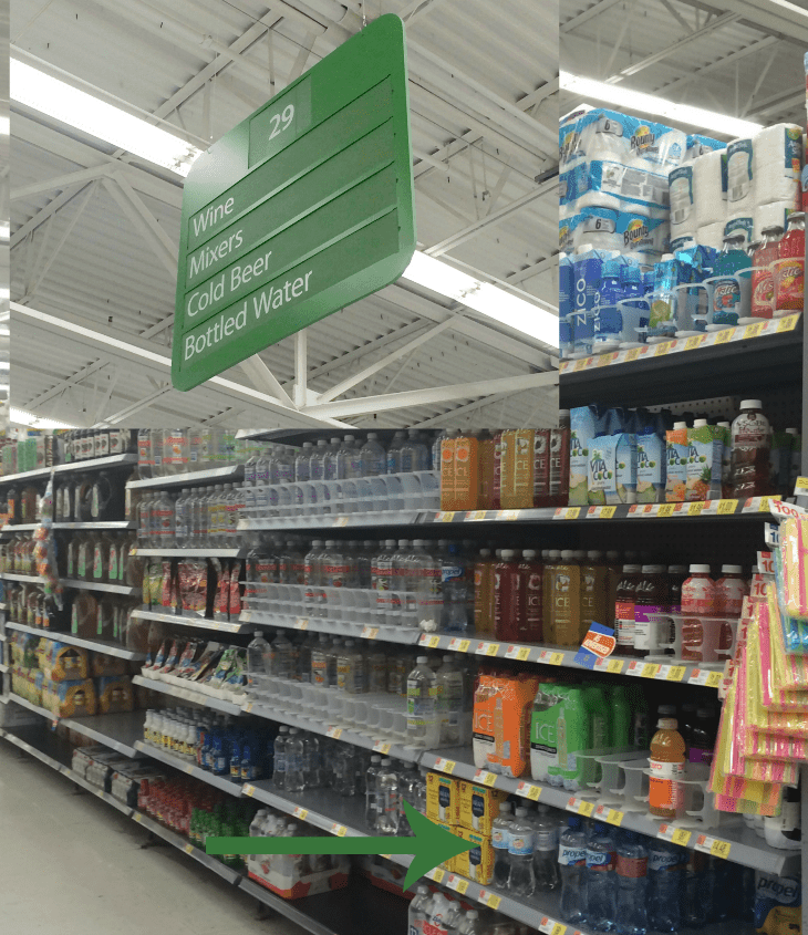 Canada Dry at Walmart
