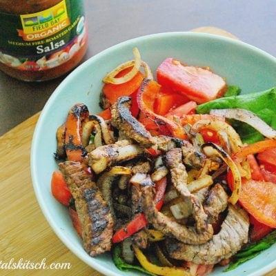 Paleo Recipes | Steak Fajita Bowl Recipe
