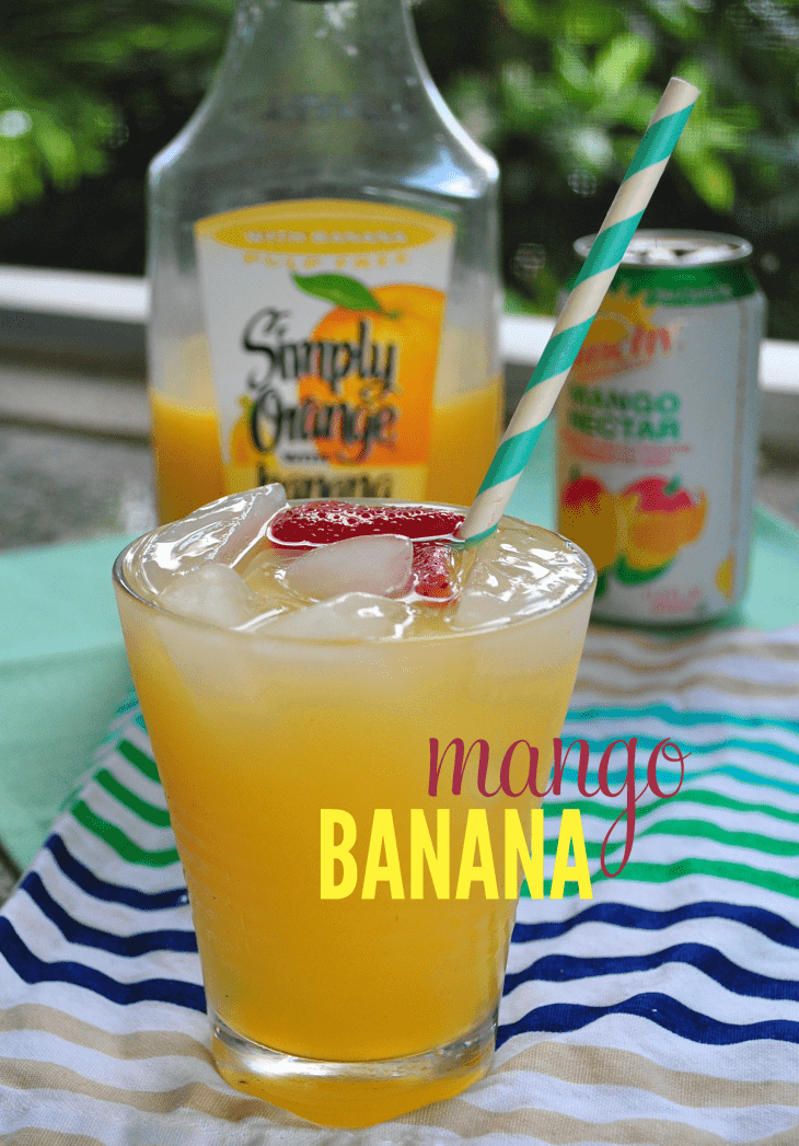 Mango rum punch for shark week for Fruity mixed drinks recipes