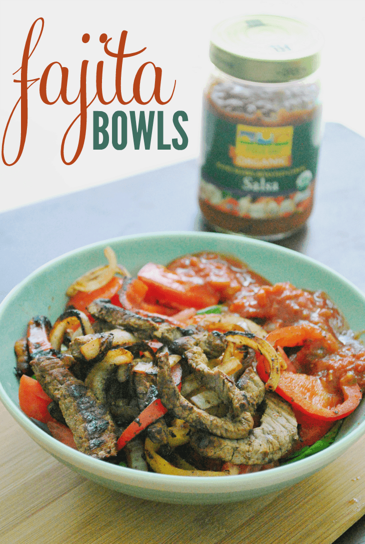 Paleo Fajita Bowls