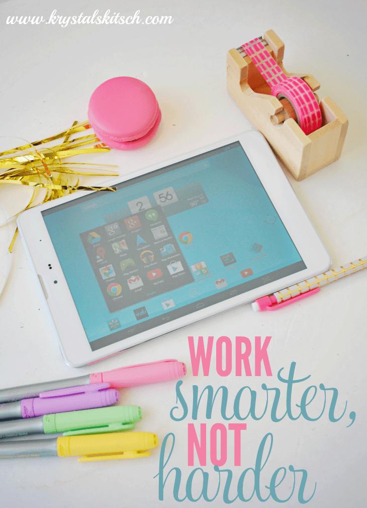 Work Smarter, Not Harder #TabletTrio