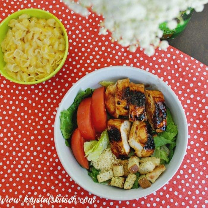 Budget Recipes: Brown Sugar BBQ Chicken Salad