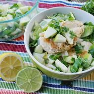 Chicken Salad With Apple Pico de Gallo