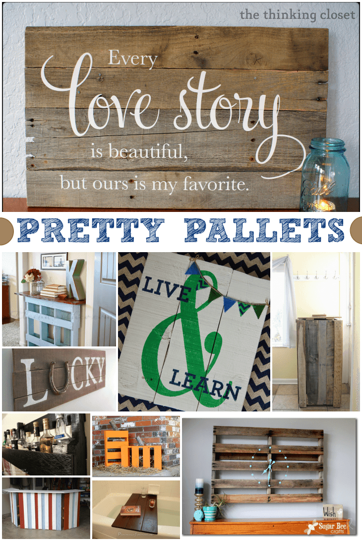 Upcycled Diy Pallet Crafts