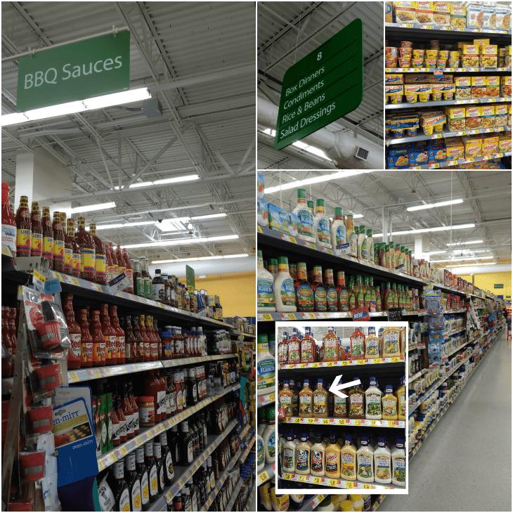 Kraft Rollback at Walmart