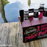 Drink Pink with mike's hard lemonade