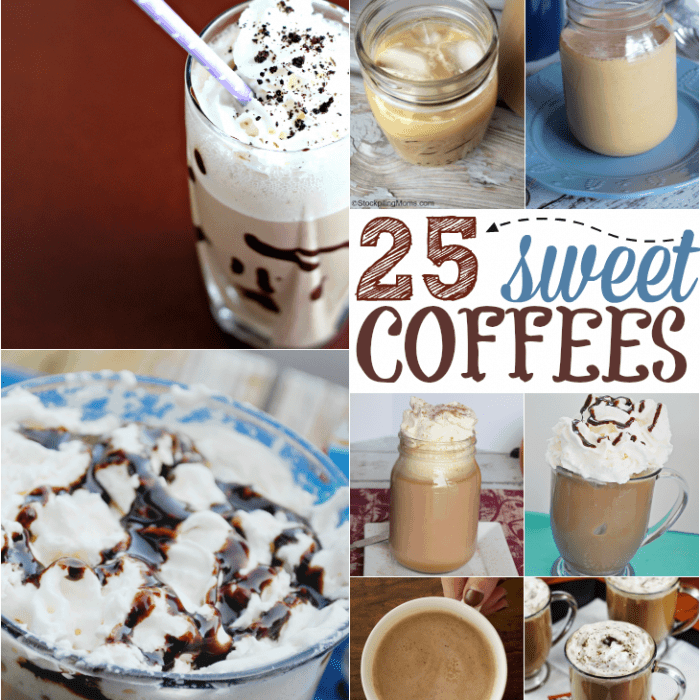 25 Sweet Coffee Drinks