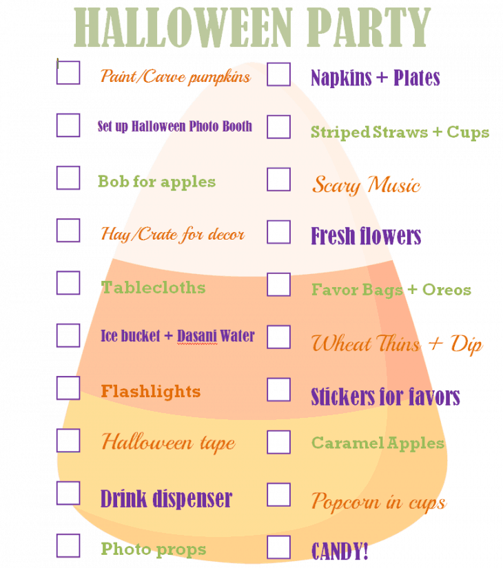 The Ultimate Halloween Party Checklist