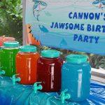 One Jawsome Shark Birthday Party